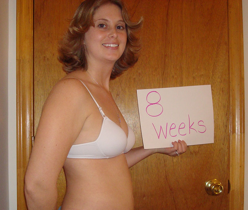 8th Week of Pregnancy – Wrapping up the second month